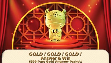 Photo of 999 Pure Gold Angpow 2021: Answer & Win!