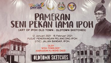 Photo of Art of Ipoh Old Town Exhibition