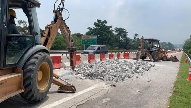 Photo of Expressway Maintenance Works by PLUS