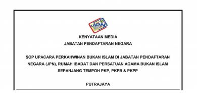 Photo of Non-Islamic Marriage Ceremonies Permitted for Areas Placed under MCO, CMCO and RMCO