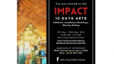 Photo of 'The IMPACT' exhibition & Celebrate Life