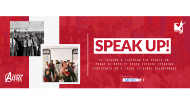 Photo of AIESEC in UTAR – Speak Up 6.0