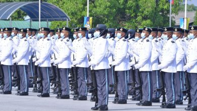 Photo of RMAF Recruit Passing Out Parade Under the New Norm