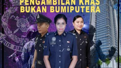 Photo of Non-Bumiputera Special Intake by PDRM