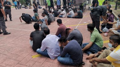 Photo of Foreigners Arrested for Lack of Identification Documents