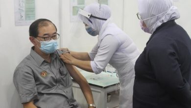 Photo of Mah Hang Soon Received His COVID-19 Immunisation Today