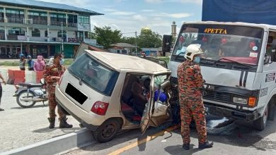 Photo of Road Accident in Hutan Melintang