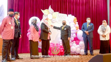 Photo of Flower Petals Chosen As Wanita Perak's Logo