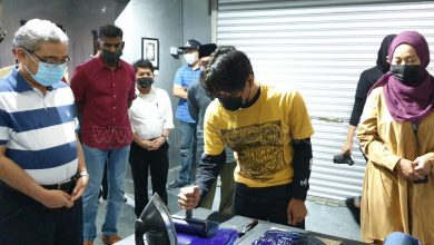 Photo of Acid Etching Workshop and Exhibition