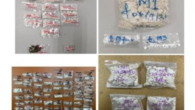 Photo of 16 Drug Dens Busted With RM59,209 Worth of Drugs Seized