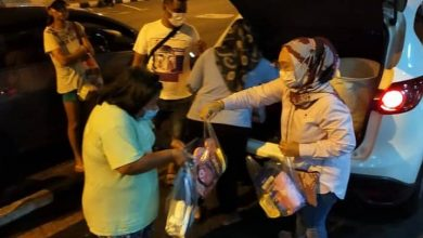 Photo of Volunteers Aided the Homeless in Ipoh