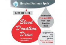 Photo of Hospital Fatimah Blood Donation Drive (21 Apr 2021)