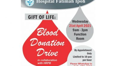 Photo of Hospital Fatimah Blood Donation Drive (21 Apr 2021)