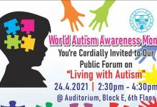 Photo of Hospital Fatimah: Living with Autism (24 Apr 2021)
