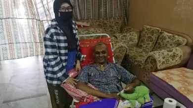 Photo of Stroke Patient Among Recipients of Aidilfitri Donations