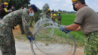 Photo of No Barbed Wires for Entire EMCO Area, Only Shortcuts