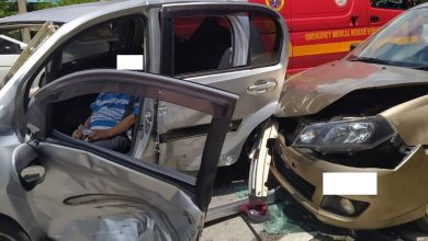 Photo of Road Accident at Jalan Gopeng-Kampar, One Casualty Reported
