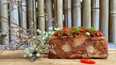 Photo of Recipe: Steamed Yam Cake with Fermented Bean Curd