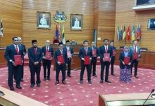 Photo of MBI City Councillors Sworn In