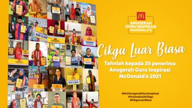 Photo of McDonald's Inspirational Teacher Award to Celebrate Extraordinary Teachers