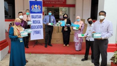 Photo of Contribution of PPE from MMA Perak to JKN Perak