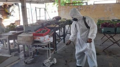 Photo of MBI Conducts Disinfecting Works at Public Markets