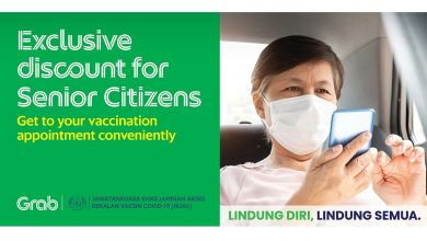 Photo of Grab Malaysia to Support Vaccination for Senior Citizens with Discounted Rides