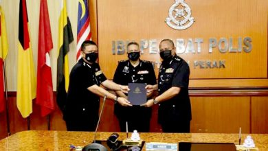 Photo of Ipoh District Police Chief Asmadi Reassigned