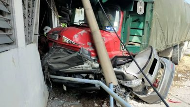 Photo of Accident at Ipoh-Lumut Expressway, One Casualty Reported