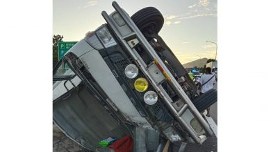 Photo of Lorry Crash at PLUS Highway, Two Victims Reported