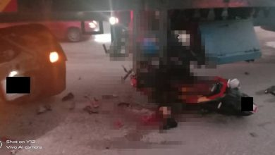 Photo of Road Accident at Gerik, One Casualty Reported