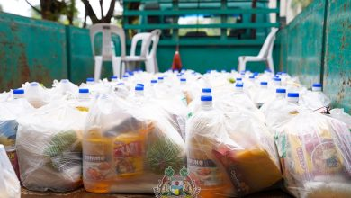Photo of Food Aid by MBI with Daboba Malaysia and KSKMP