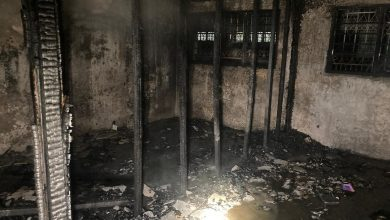 Photo of Fire at a Shop Lot in Ipoh, No Victims Reported