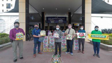Photo of Food Packs for PPV Volunteers