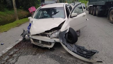 Photo of Kampung Jeram Accident, One Casualty Reported