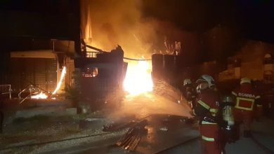 Photo of Squatter House Fire, No Victims Reported