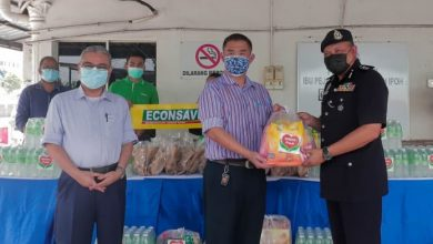 Photo of MBI Prihatin Aid Towards the Police Force of Ipoh