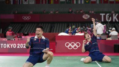 Photo of National Badminton Men's Doubles Win Bronze at Tokyo Olympics