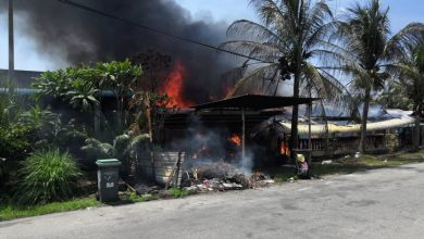 Photo of Two Houses Caught Fire