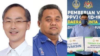 Photo of DUN Members Absent from Meeting Identified