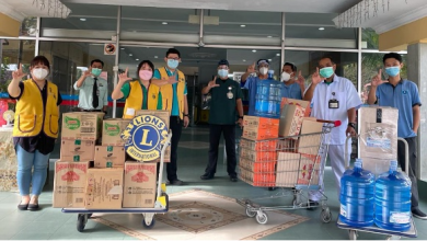 Photo of Lions Club of Ipoh Evergreen Supports Frontliners
