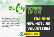 Photo of Befrienders Ipoh: Training for New Hotline Volunteers