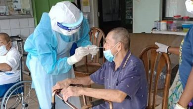 Photo of COVID-19 Outbreak Detected at Old Folks' Home in Simee