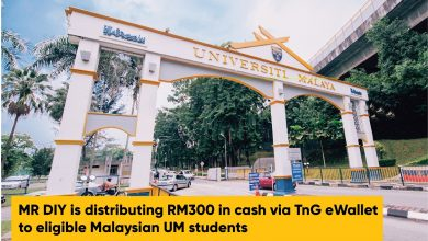 Photo of MR DIY Distributes RM300 via Touch 'n Go eWallet for UM Students