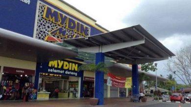 Photo of Mydin Supermarket Closed for Sanitisation Work
