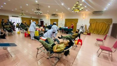 Photo of Military Personnel of 2 RRD Donates Blood in Conjunction with Battalion Anniversary