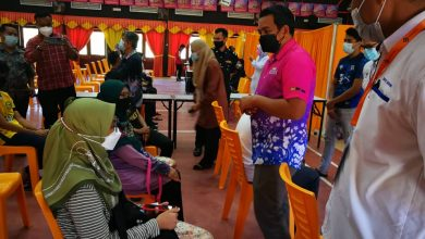Photo of 13,727 Students in Perak Vaccinated