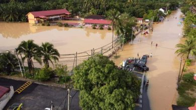 Photo of Three Villages in Sungai Siput Hit by Flood, Residents Evacuated