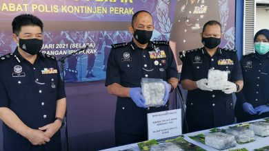 Photo of RM1.89 Million Worth of Drugs Seized in Two Operations