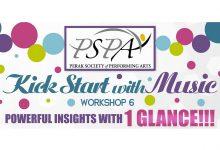 Photo of PSPA: Kickstart with Music Workshop
